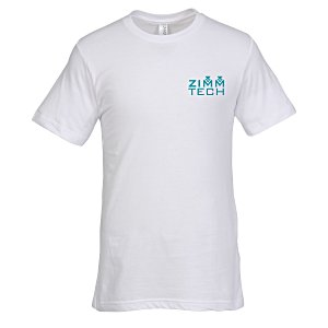 Bella+Canvas Crewneck T-Shirt - Men's - White Main Image