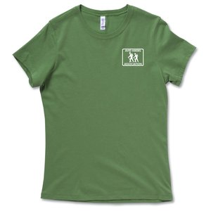 Bella Crewneck Jersey T-Shirt - Ladies' - Colors
