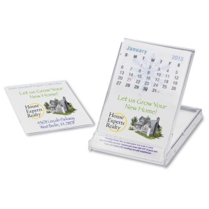 Seeded Paper Stand Up Calendar Main Image