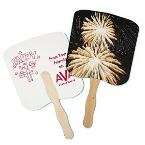Hand Fan - Event - Fireworks Main Image