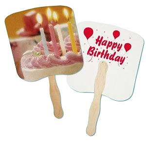 Hand Fan - Event - Birthday Main Image