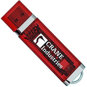 USB 2.0 Flash Drive - 4GB - Translucent Main Image