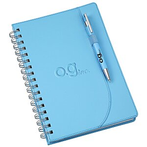Neoskin Spiral Notebook with Tempest Pen
