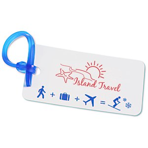 Destination Luggage Tag - Ski Main Image
