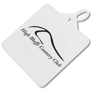 Square Golf Luggage Tag - Closeout Main Image