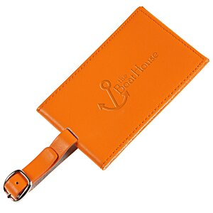 Colorplay Double Leather Luggage Tag Main Image