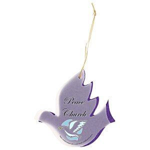 Seeded Paper Ornament - Dove Main Image