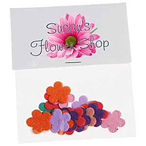 Flower Seed Multicolor Confetti Pack - Flower Main Image