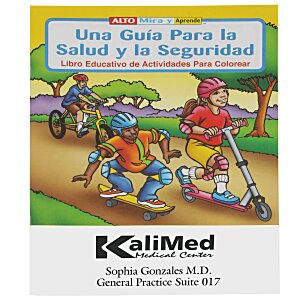 A Guide To Health & Safety Coloring Book - Spanish Main Image
