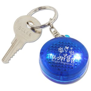 Round Soft Touch LED Key Tag Main Image