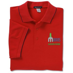 Solarshield UPF 30+ Easy Care Polo w/Tipping - Men's