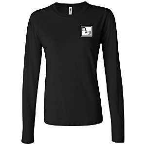 Bella+Canvas Long Sleeve Jersey T-Shirt - Ladies' - Colors Main Image