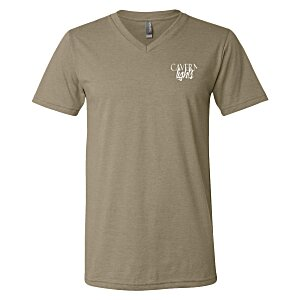 Canvas Delancey V-Neck T-Shirt - Men's - Colors - Screen