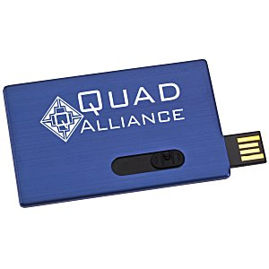 Slide Card Micro USB Drive - 1GB Main Image