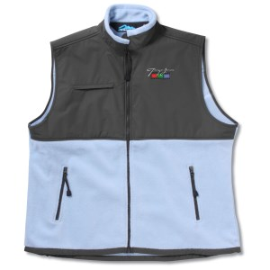 Cienna Fleece Vest w/Nylon Panel - Ladies' Main Image