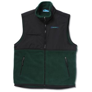 Surveyor Fleece Vest w/Nylon Panel - Men's Main Image