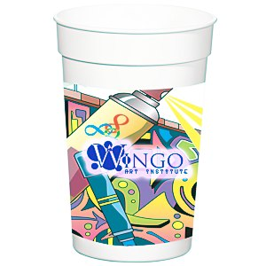 Full Color Wrap Stadium Cup - 17 oz. Main Image