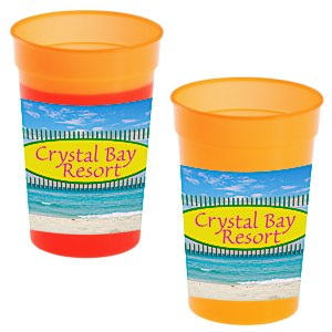 Full Color Wrap Mood Stadium Cup - 17 oz. Main Image