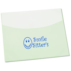 "Two-Tone Velcro Envelope - 9"" x 11"" Main Image"