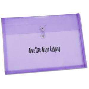 "Horizontal Legal Polystring Envelope - 10"" x 14"" Main Image"