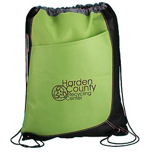 Trapezoid Drawstring Sportpack Main Image