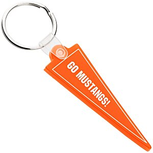 Pennant Soft Key Tag - Translucent