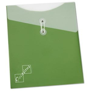 "Large Poly Vertical Folder - 12"" x 10"" Main Image"