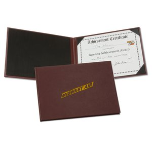 Hard Cover Certificate Holder