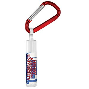 Value Lip Balm with Carabiner - School Spirit Main Image
