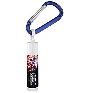 Holiday Value Lip Balm with Carabiner - Fireworks Main Image
