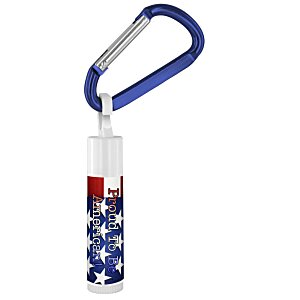 Holiday Value Lip Balm with Carabiner - Stars & Stripes Main Image