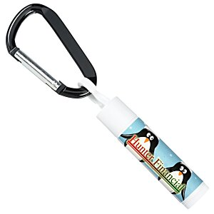 Holiday Value Lip Balm with Carabiner - Penguins Main Image
