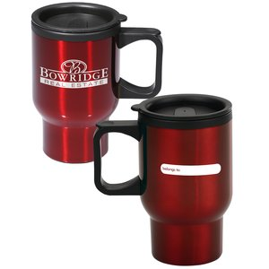 ID Stainless Steel Travel Mug - 16 oz.