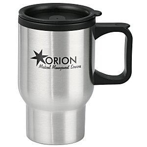 Stainless Steel Travel Mug - 16 oz. - 24 hr Main Image