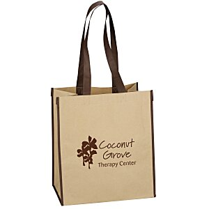 Kraft Paper Laminated Polypropylene Shopper Main Image