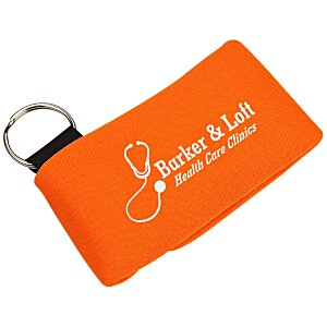USB Pouch - Single with Key Ring Main Image