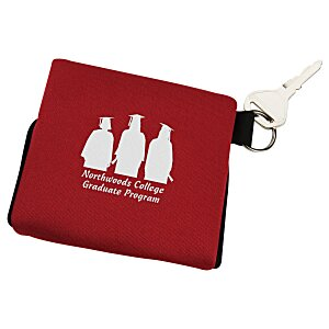 USB Pouch - Triple with Key Ring Main Image