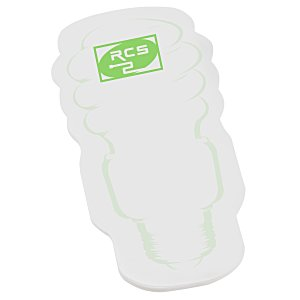 Post-it® Custom Notes - Eco Bulb - 25 Sheet - Stock Design 1 Main Image