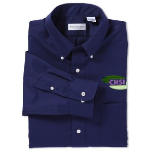 Van Heusen Twill Dress Shirt - Men's