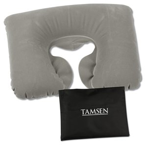 Inflatable Travel Pillow - Closeout Main Image