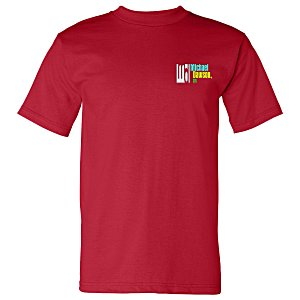 Bayside USA Made T-Shirt - Colors - Embroidered Main Image