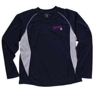 North End Athletic LS Sport Tee - Ladies' - Embroidered