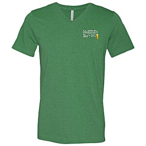 Canvas Delancey V-Neck T-Shirt - Men's - Colors- Embroidered Main Image