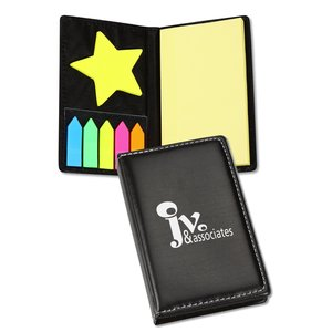 Adhesive Notes with Die Cut Shape - Star - 24 hr