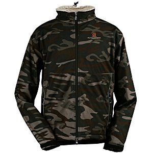 Clique Soft Shell Jacket - Men's - Camo Main Image