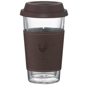 Double Wall Glass Tumbler w/Wrap - 10 oz. Main Image