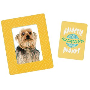Bic Magnetic Photo Frame - Rectangle - Geometric Main Image