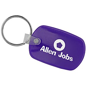 Standard Shape Soft Key Tag - Opaque