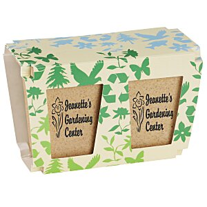 Promo Planter - Earth Friendly - 2 Pack Main Image