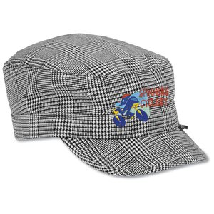 Peter Grimm Cadet Cap - Black Plaid Main Image